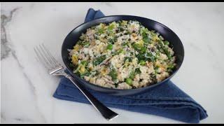 Mushroom Quinoa Risotto - Panasonic Cyclonic