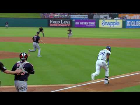 August 26, 2016-Cleveland Indians vs. Texas Rangers