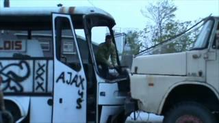 Sas team is towing a big 'Bova' coach