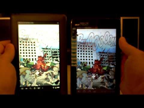 Acer Iconia A100 vs Nook Color
