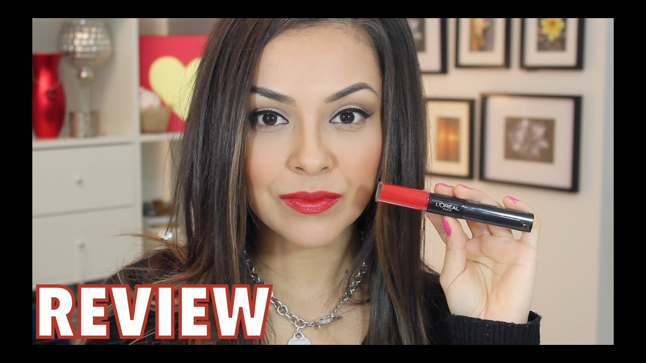 Loreal Infallible Lipstick First Impression Review Trinaduhra
