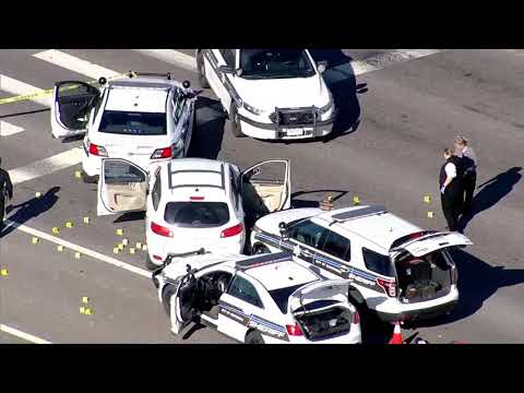 Raw video: Arapahoe County deputies shoot suspect near Arapahoe Rd. and I-25