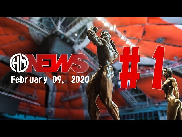 2020 HardMuscles NEWS: бодибилдинг новости 3 - 9 февраля.