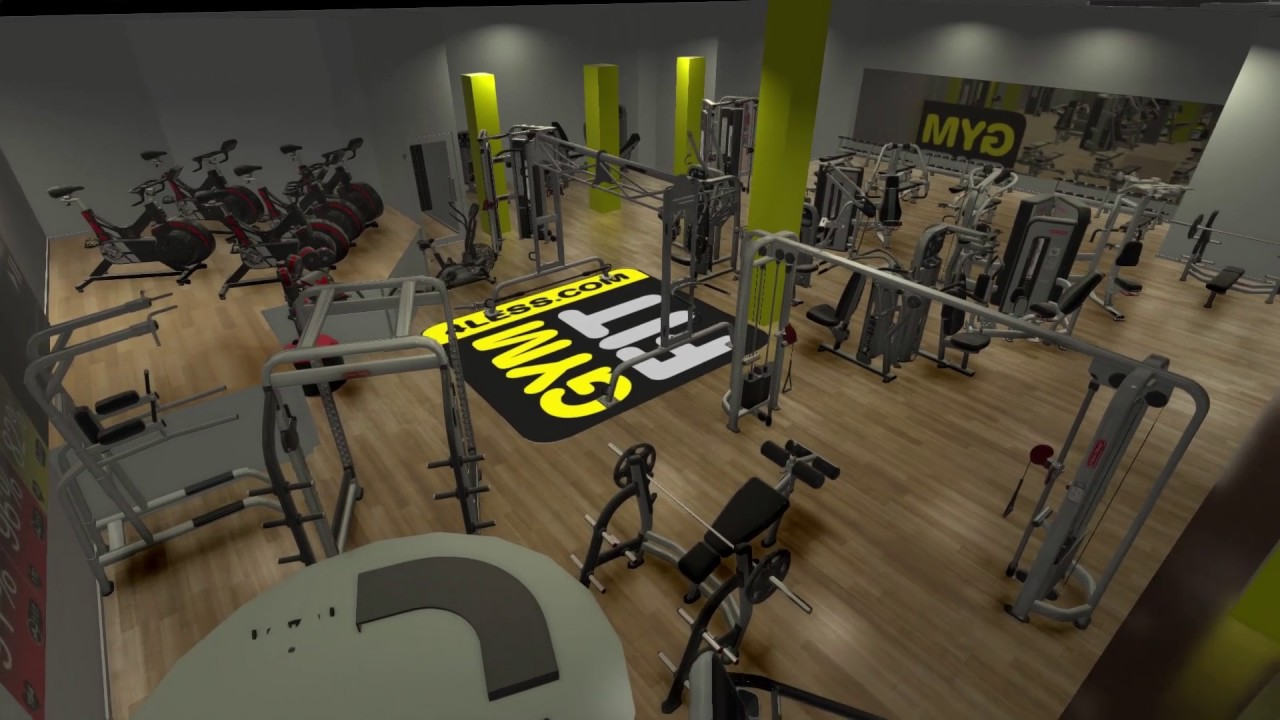 Fit For Less >> Gym Fit 4 Less Aylesbury Flagship Site Virtual Walk Through