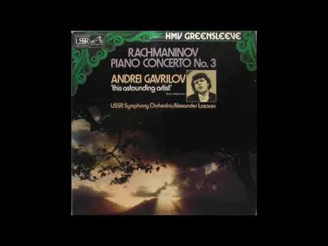 Andrei Gavrilov Performs Rach 3 (1976 recording). Rachmaninov Piano Concerto No. 3