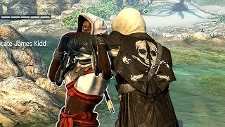 Assassin's Creed 4 Black Flag Perfect Stealth  vs The Assassin Brotherhood