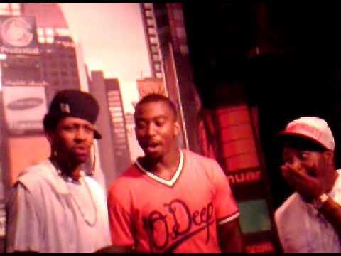 Allen Iverson, Antoine Bethea and Tyrod Taylor in the club, june 2012...VA