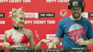 Велико Coca-Cola The Voice Happy Energy Tour предизвикателство от DJ Doncho