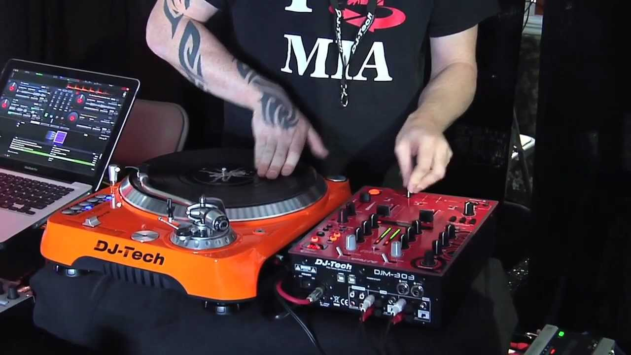 DJ TECH PRO MIAMI ON THE TURNTABLES! World Wide.mov   YouTube