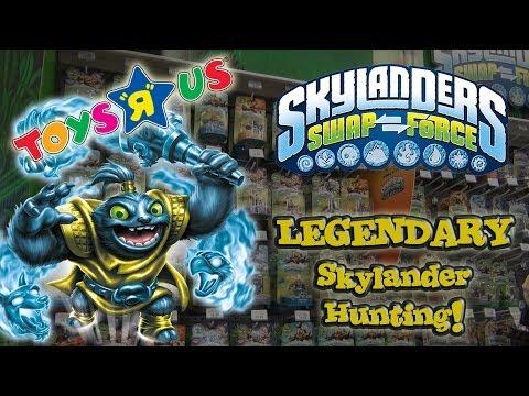 LEGENDARY Skylander Hunting!!!  Toys