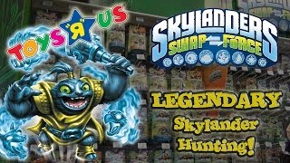 "LEGENDARY Skylander Hunting!!!  Toys ""R"" Us SHOPPING!"