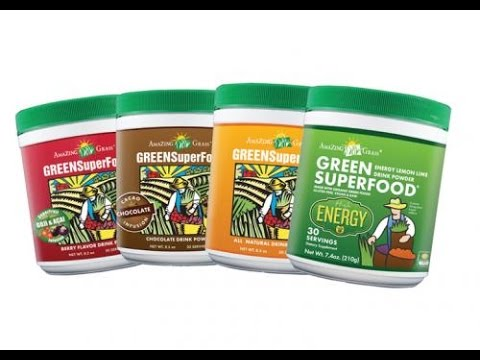 Amazing Grass Green Superfood Organic Powder Drink