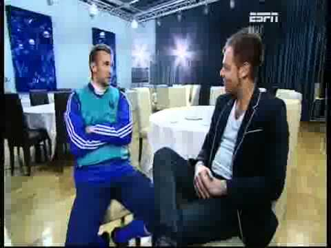 Andriy Shevchenko interviewed by Richard Lenton