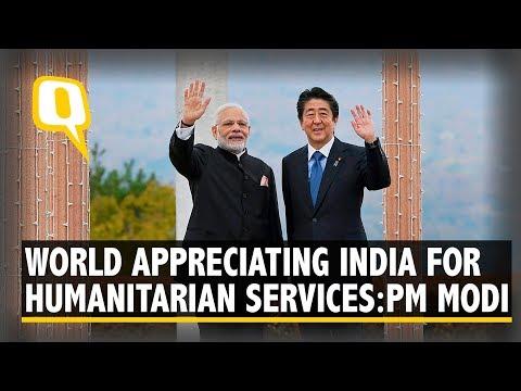 World Appreciates India For Its Humanitarian Services: PM Modi | The Quint