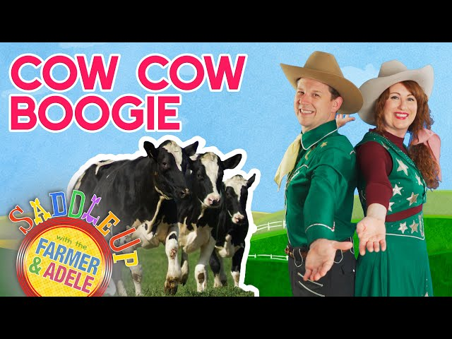 Saddle Up: Cow Cow Boogie