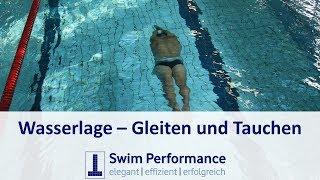 Technik: Gleitphase/Tauchphase verbessern - richtiges schwimmen