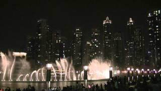 Dubai Fountain,Elissa, Aa Bali Habibi,