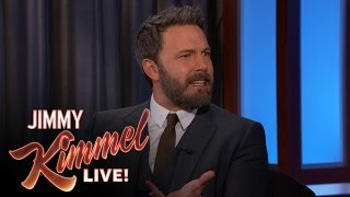Repeat youtube video Ben Affleck on the Meryl Streep/Donald Trump Feud