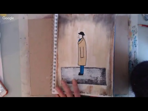 Ilene and Nicky's Small Art Stream: Inspired by L S Lowry