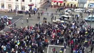 Євромайдан 2013 у Чернівцях