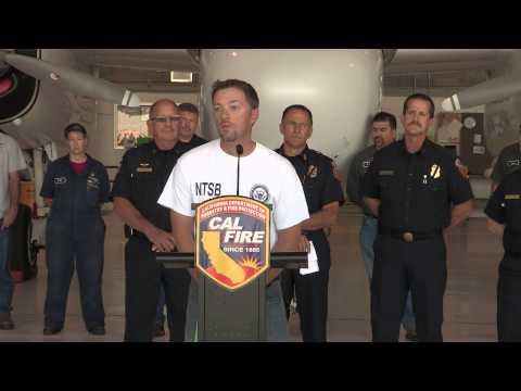 CAL FIRE Airtanker Fleet Update Press Conference