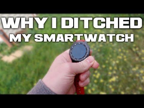 Why I Stopped Wearing My Smartwatch; Digital Minimalism