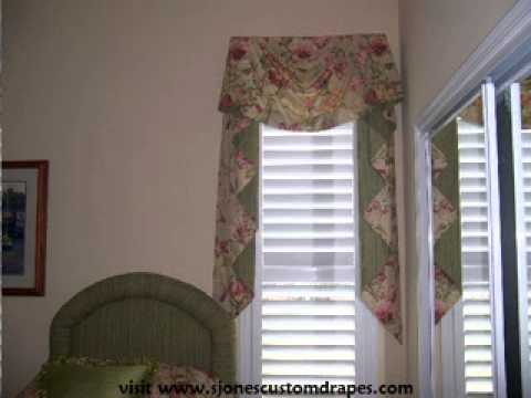 Custom Window Treatments by Suzanne Jones - Kingston Valances