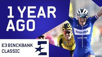 Zdenek Stybar Wins E3 BinckBank Classic | 1 Year Ago | Cycling | Eurosport