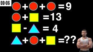 Test di Intelligenza Matematica - Brain Training per Aumentare il QI #2
