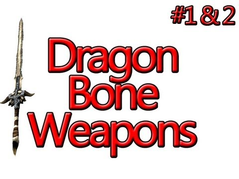 Skyrim Mods - Dragon Bone Weapons Complete