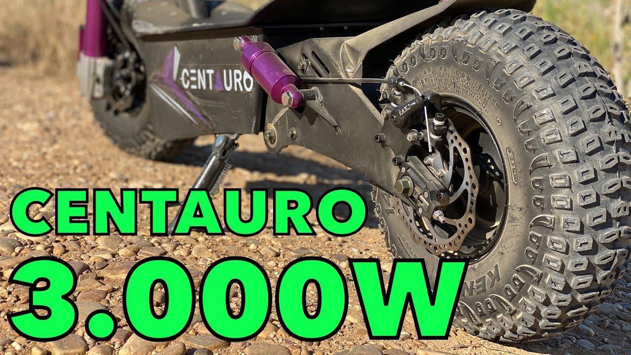 Patinete Eléctrico 3.000W de potencia: revisión y prueba MOTORK