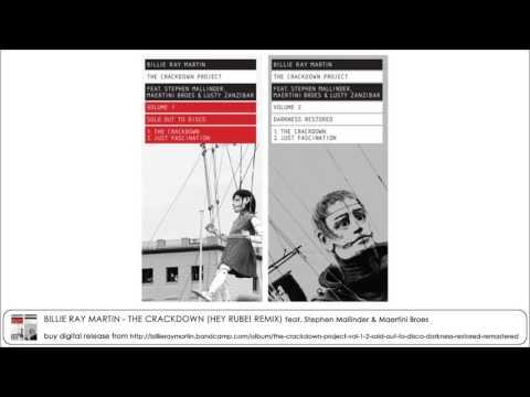 Billie Ray Martin - The Crackdown (Hey Rube! Remix) feat. Stephen Mallinder & Maertini Broes