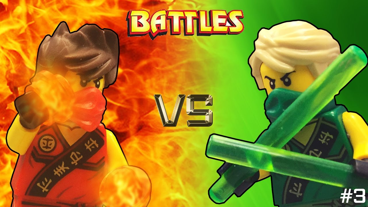 Lego ninjago kai vs lloyd tournament youtube - Ninjago vs ninjago ...