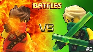 Lego Ninjago: Kai vs Lloyd (Tournament)