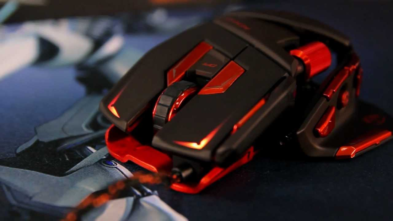 Mad Catz M.M.O. 7 Review - YouTube