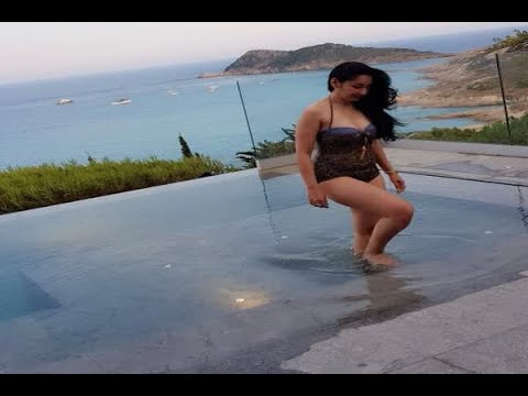 In Graphics: Maanayata Dutt posts swimsuit pictures of France Trip