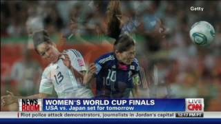 CNN: U.S. and Japan to decide World Cup thumbnail