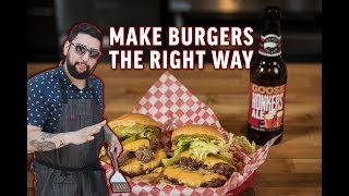 'Meat Jesse' The Perfect Burger - Brewed for Food Education Series