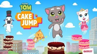 Talking Tom Cake Jump - NEW GAME - Android Gameplay  #1