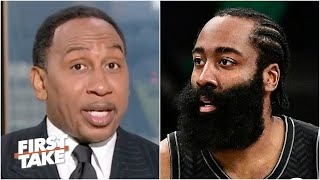 Stephen A. reacts to Nets vs. Bucks Game 1 and James Harden's injury