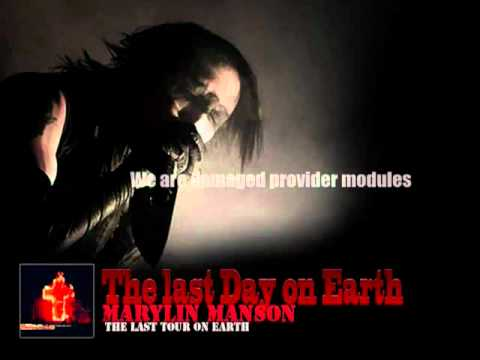 Marilyn Manson - The last day on Earth [acoustic live with Lyrics]