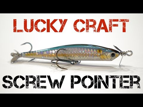 Lure Review- Lucky Craft Screw Pointer (Newer Version)