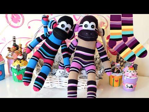 Sorteo y tutorial para hacer mu ecos con calcetines - Hacer munecos con calcetines ...