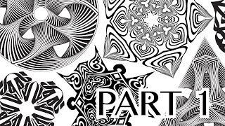 Pattern Variations in Seconds Illustrator CC (Part 1)