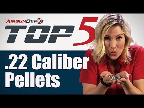 Top 5 .22 Caliber Pellets