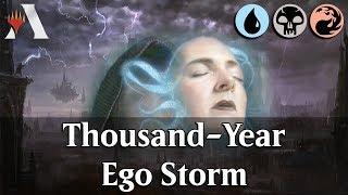MTG Arena GRN   Thousand-Year Unmoored Ego Storm DeckTech & Gameplay [TimerChangeOrRiot]