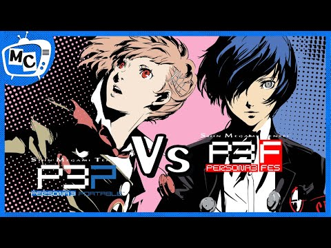 Persona 3 FES Vs P3P What Should You Play?  (discussion)