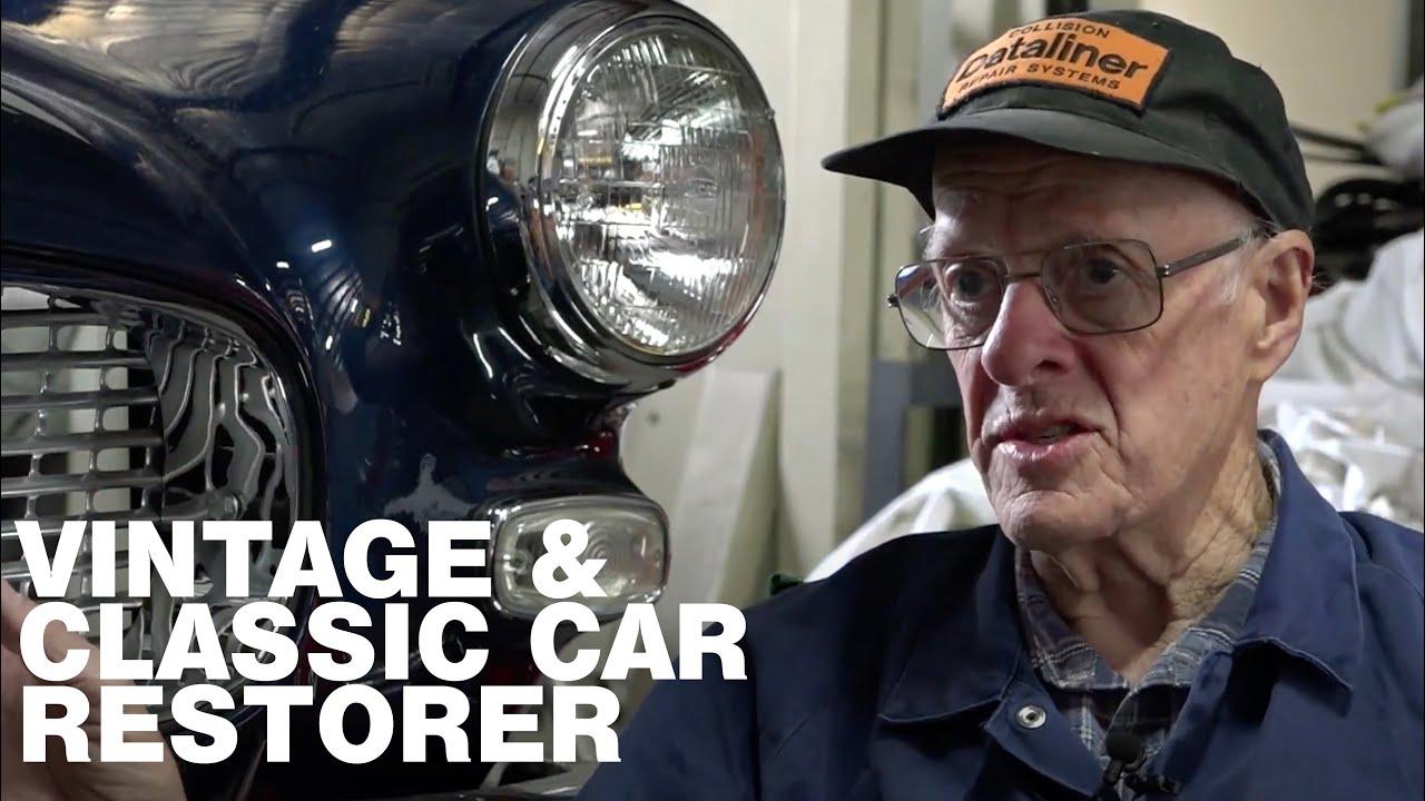 Vintage & Classic Car Restorer Brian Hawke -  Classic Restos Series 47