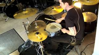 Slayer - Killing Fields (Drum cover) - maxondrums.co.uk
