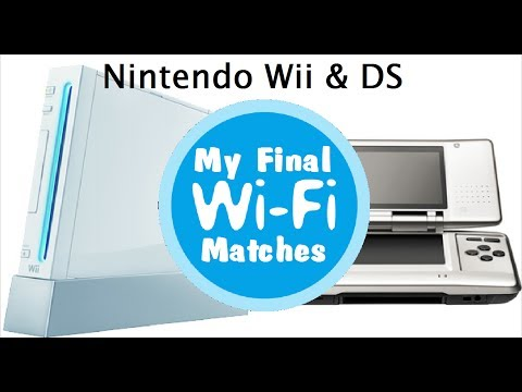 My Final WiFi Matches - DS & Wii WiFi Connection has ended